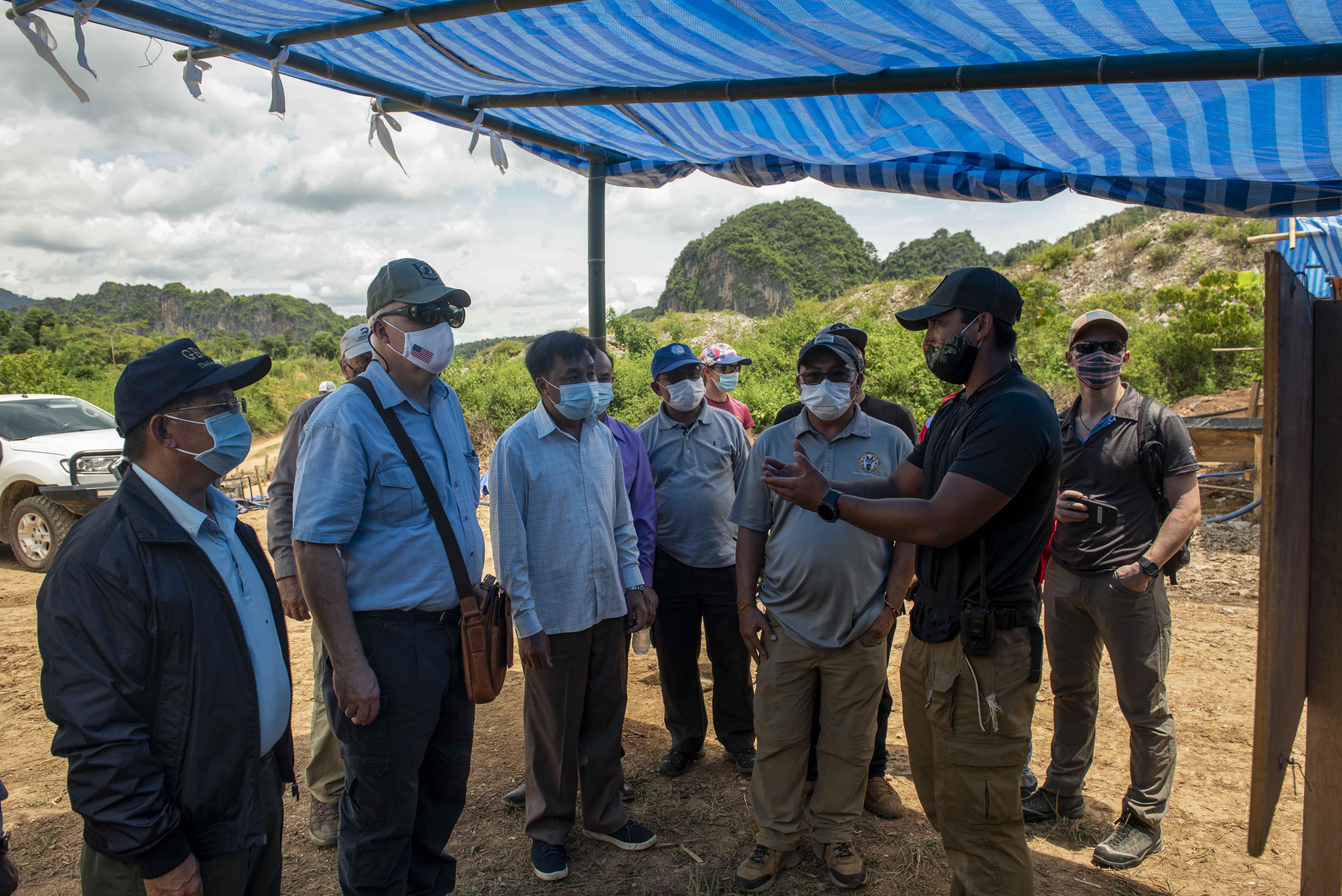 Ambassador visits Laos Joint Field Activity Sites