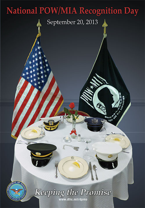 Defense POW/MIA Accounting Agency > Families > Posters