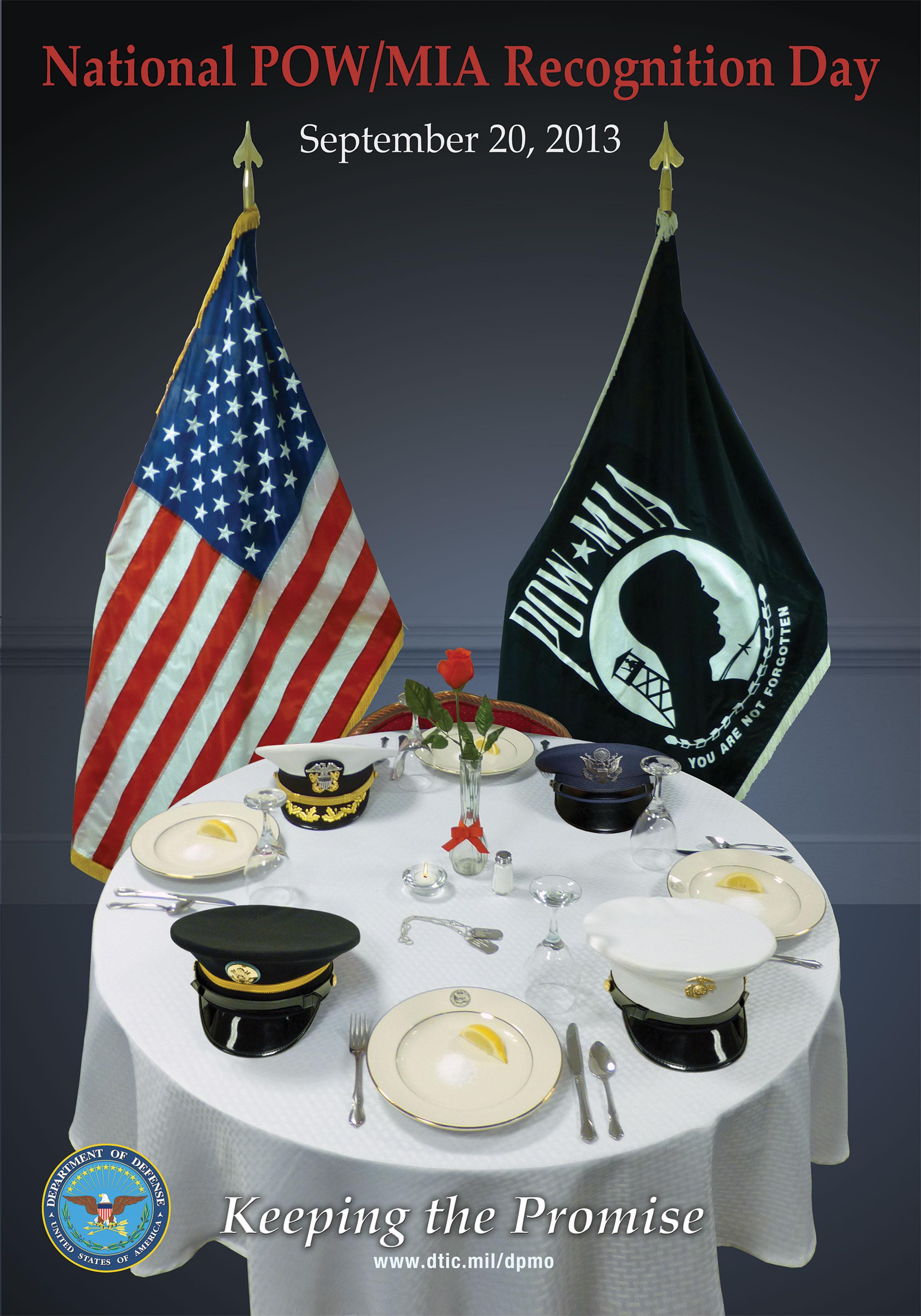 Pow Mia Flag >> Defense POW/MIA Accounting Agency > Families > Posters
